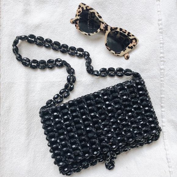 Vintage Handbags - Vintage beaded purse